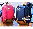 Оригінальний шкільний рюкзак і ранець рожевий маленький 367R, фото 4