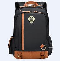 Оригинальный школьный рюкзак ранец черный 367В маленький