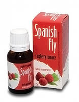 Возбуждающие капли Spanish Fly малина 15 мл