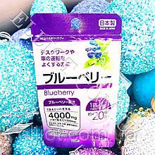 "Екстракт чорниці ""Blueberry"" Daiso Japan."