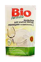 Бальзам для мытья посуды BIO formula Ромашка и витамин Е дой-пак – 500 мл.