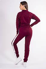 Спорт костюм женский 101R001 цвет Бордо, фото 3