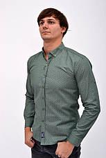 Рубашка 511F003-13 цвет Зеленый, фото 3