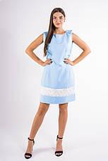 Платье 101R026 цвет Голубой, фото 3