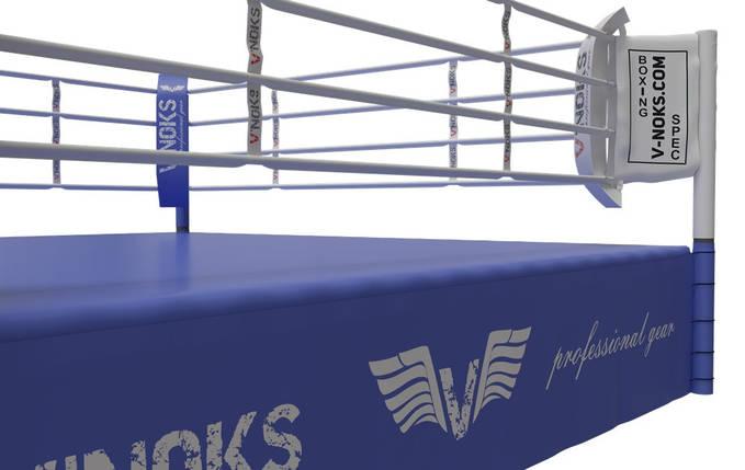 Ринг для бокса V`Noks Competition 7,5*7,5*1 метр, фото 2