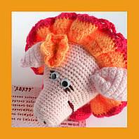 Хрюшка вязаная игрушка крючком свинья декор дети подарок мультики
