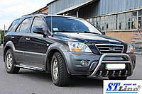 Кенгурятник Kia Sorento (02-09) защита переднего бампера кенгурятники на для КИА Соренто Kia Sorento (02-09) d51х1,6мм