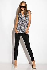 Блуза женская 516F483 цвет Сине-молочный, фото 3