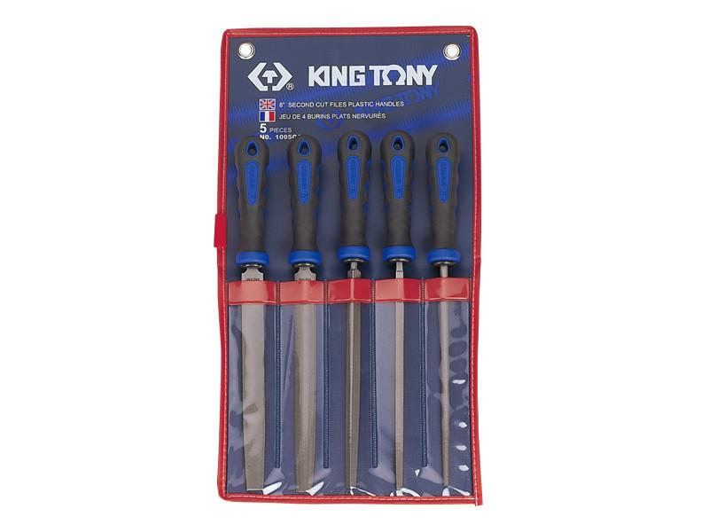 """Набор напильников 5 ед. 8"""" KING TONY 1005ZQ (Тайвань)"""