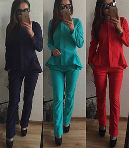 Женский костюм-двойка  №5-3468