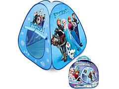 """Детская палатка с героями мультфильма """"Холодное сердце"""", самораскладная!"""