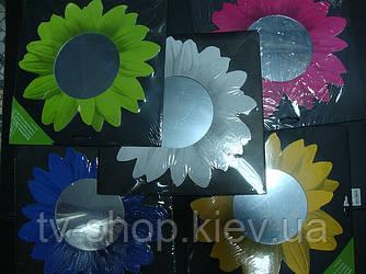 Зеркальный декор Цветы (2шт)