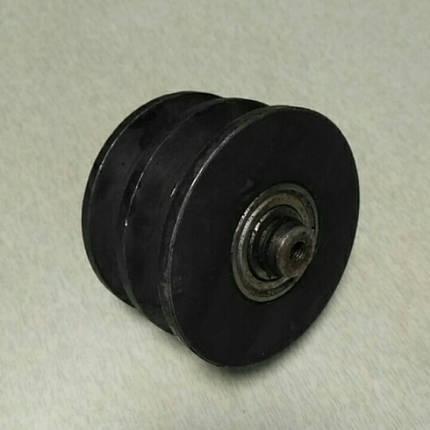 Ролик натяжителя ремня двухручейковый мототрактора, фото 2