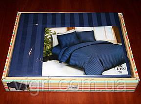 "Постельное белье, евро комплект, сатин страйп ""Stripe"", Вилюта «Viluta» VSS 78, фото 2"