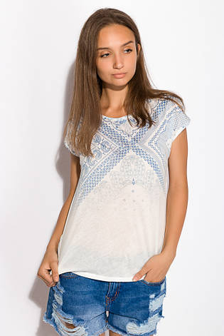 Блуза женская 516F451 цвет Молочный, фото 2