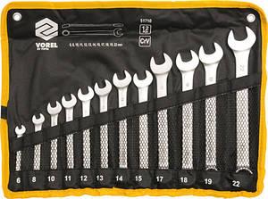 Набор ключей комбинированных 6-22 мм 12 шт. Vorel 51710 (Польша)
