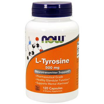 Аминокислоты L-Tyrosine 500 mg (120 caps) NOW