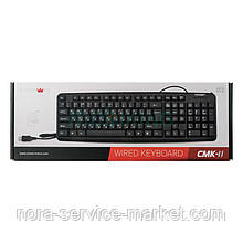Клавиатура USB Crown CMK-11 черная (CMK-11 Black)