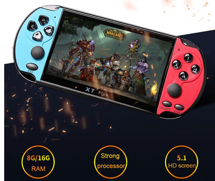PSP Игровая консоль X7 Plus 5.1 screen