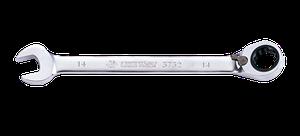 Ключ комбинированный 16мм с  трещоткой KING TONY 373216M (Тайвань)