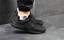 Кроссовки Nike air presto TP QS текстиль,черные 44р, фото 3
