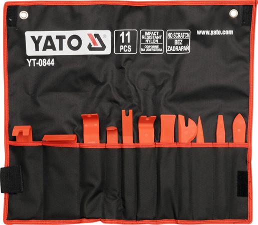 Набор съемников для панелей облицовки YATO YT-0844 (Польша)