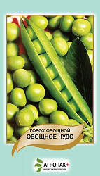 Насіння Горох Овочеве диво 10 гр W. Legutko (2509)