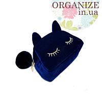 Косметичка Dior Cat (синий)