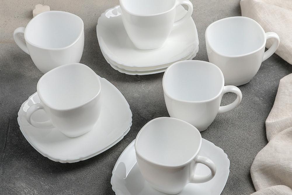 Сервиз чайный Luminarc Lotusia на 6 персон 12 предметов