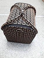 Сумка мастера (фенди, черно-бежевая)