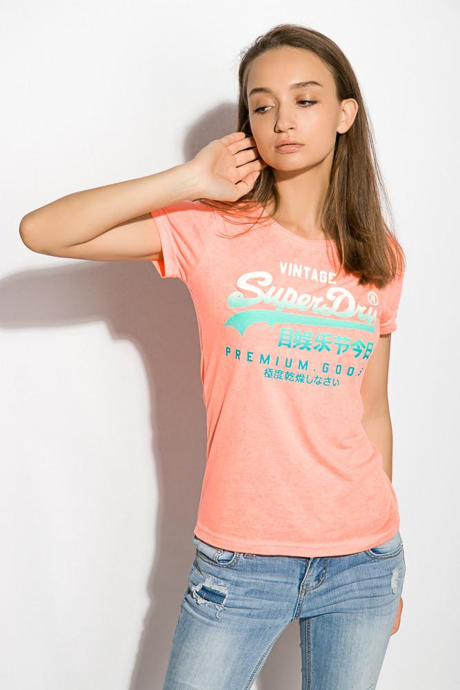 Футболка женская 516F467-2 цвет Оранжевый