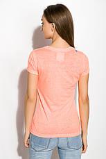 Футболка женская 516F467-2 цвет Оранжевый, фото 3