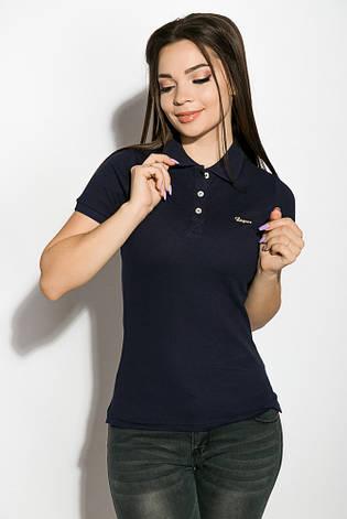 Поло женское 518F006 цвет Темно-синий, фото 2