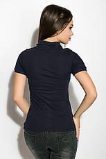 Поло женское 518F006 цвет Темно-синий, фото 3