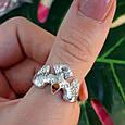 Мужское серебряное кольцо Орел - Мужское кольцо из серебра Птица Сапсан - Кольцо из серебра Сокол, фото 5