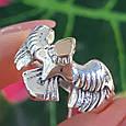 Мужское серебряное кольцо Орел - Мужское кольцо из серебра Птица Сапсан - Кольцо из серебра Сокол, фото 7