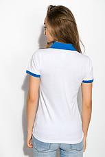 Поло женское 518F004 цвет Молочно-голубой, фото 3