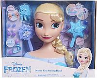 Большой Манекен - голова Disney Frozen Elsa Deluxe создание образа Холодное сердце - Принцесса Эльза
