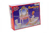 Детская игрушечная мебель Глория Gloria для кукол Барби Ванная комната 2316. Обустройте кукольный домик