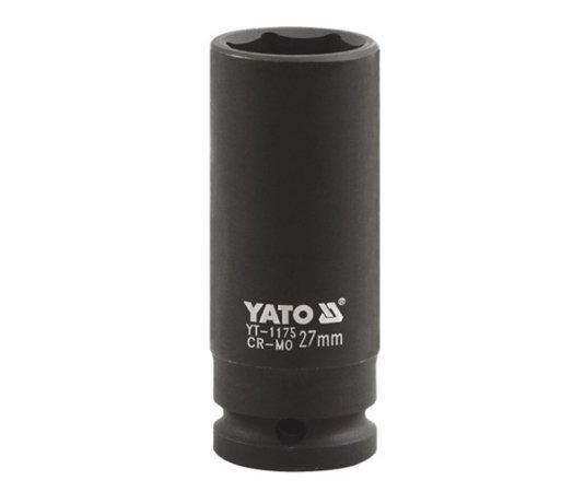 """Головка торцевая ударная 6-гранная 1"""" 33 мм YATO YT-1178 (Польша)"""