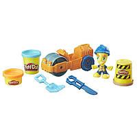Play-Doh Town Steamroller Playset Паровой каток Плей-До