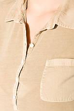 Поло женское 516F439-3 цвет Песочный варенка, фото 2
