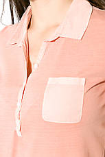 Поло женское 516F439-3 цвет Персиковый варенка, фото 2