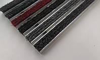 Алюминиевые решетки «Лен» наполнение цветной текстиль, фото 1