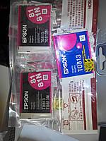 Пурпурный картридж Epson T0 813  magenta
