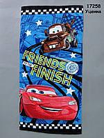 Полотенце Cars для мальчика, 75х140 см