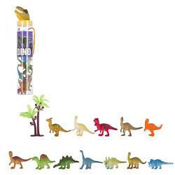 """Набор фигурок """"Динозавры"""", 12 шт  sco"""