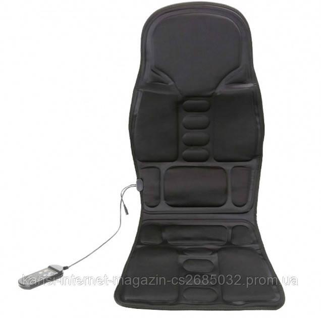Массажная накидка вибрационная  для дома и авто с подогревом CUSHION massage