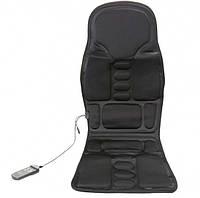Массажная накидка вибрационная  для дома и авто с подогревом CUSHION massage, фото 1