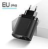 Быстрая зарядка KUULAA Quick Charge 3,0, 36 Вт USB/PD, фото 4